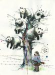 Panda-tree by lora-zombie