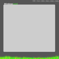 Windows Land Site Template by jimmy-tm