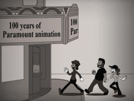 100 Years of Paramount Animation by MidNight-Vixen