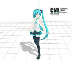 MMD HCMiku DL by cacan180