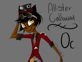 Allister Calloway OLD DRAWING by DrelykS