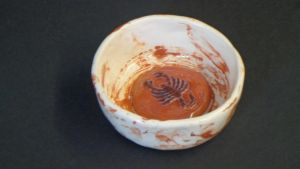 Marbled Scorpio Candy Dish by scottica