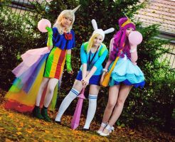 Adventure Time Ladies by MayoInvasion
