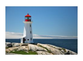 Peggy's Cove Lighthouse by manuamador