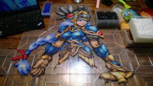 Lenneth Perler by AbyssWolf WIP 9 by MaraVWGolf