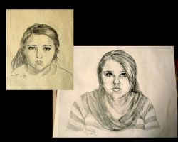 Self portraits by Tyliss
