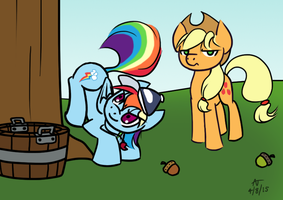 Applebucking Pointers by HowlsInTheDistance