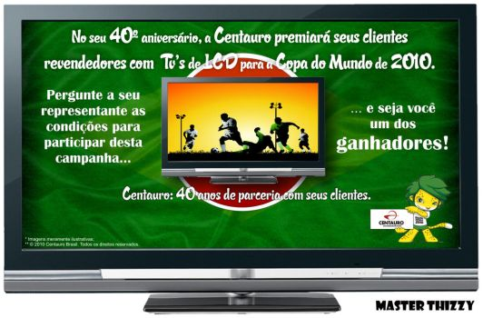 Centauro Brazil LCD Campaign by MasterThizzy