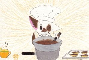 Chocolate mess by TOM-CATS