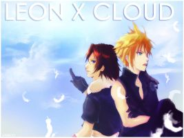 Cloud x Leon by emixoO