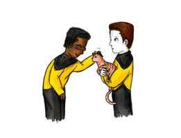 Geordi, this is Spot. by Seamonkey-Sama