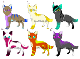 CLOSED - Adoptables Chibis Canines 32 by LeaAdoptables