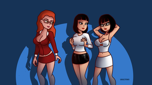 Sexy Girls III - Commission by VaultMan