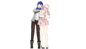 PDF2nd Floral Luka and  Holiday Kaito by XDONOTENTERX