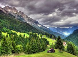 The Alps HDR by mutrus