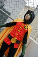 Damian Wayne: Silent Commotion by kay-sama
