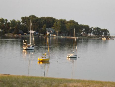 The Harbor of Grand Marais by Prussia-Hungary