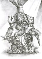 Warmachine: Menoth's Crusader by Pydracor