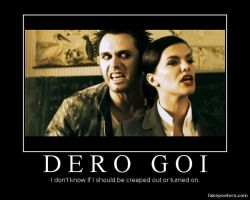 Dero Goi  poster by SuicideSuzie