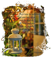 Be A Lamp By Sk by soniakr