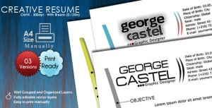 Creative Resume by kh2838