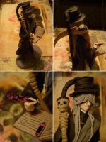 Undertaker figure collage 2 by violetvelour