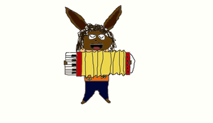 Weird Al eevee by EvengersRule