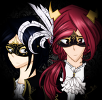 Masquerade knights by LittleCloudie
