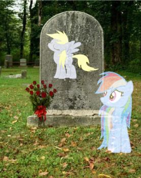 At Her Final Resting Place [MLP] by studentofdust