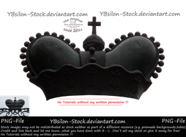Black Crown by YBsilon-Stock