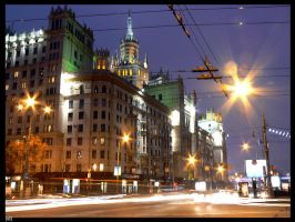 moscow evening by ELectrocutionnn
