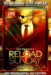 PSD Reload Sunday Flyer Template by retinathemes