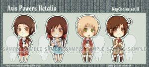 APH chibiKeychains set II by Quiss
