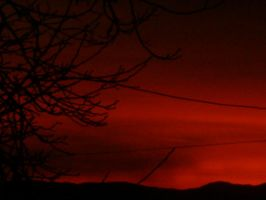 The Red Sky by karagorge