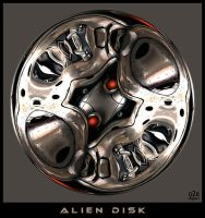 Alien Disk by Direct2Brain