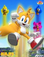 Tails Pic by CosmicBlaster97