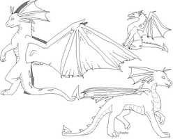 Draik Makeables by TeaDino