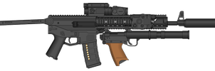 1st Assault rifle by COLT731