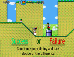 Motivational Poster - Success or Failure by Nova225