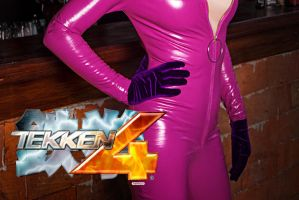 Teaser Tekken 4 cosplay Nina Williams by Jane-Po