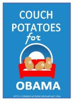 Couch Potatoes of Obama by Conservatoons