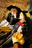 Len and Rin Twin Witch Ver-  Happy Halloween! IX by sharuruka
