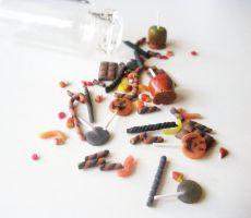 MICRO mini Halloween REDUX by LittleCalorieGallery