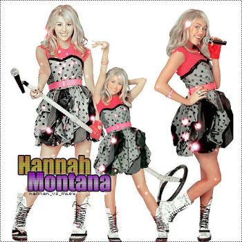 Hannah Montana by roockinmiley