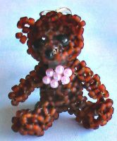 3d teddy bear by Craftcove
