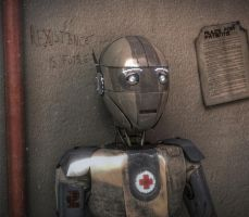 Robot medic is shocked by TomWalks
