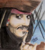captain jack sparrow by blinketyblink