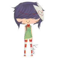 Noodle colored. by DaRainbowGurl