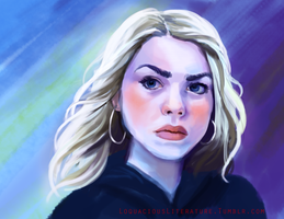 Rose Tyler by AdventureIsOutThere