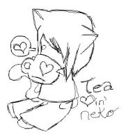tea lovin neko by gosetsuke123
